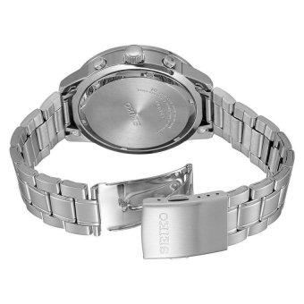 SEIKO Chronograph Jam Tangan Pria SKS515P1 - Stainless Steel - Silver - 3