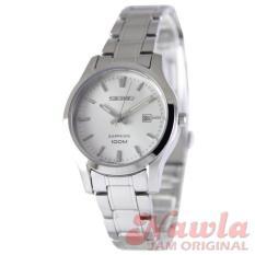 Seiko Ladies SXDG61P1 Quartz Silver Dial  Jam Wanita SXDG61