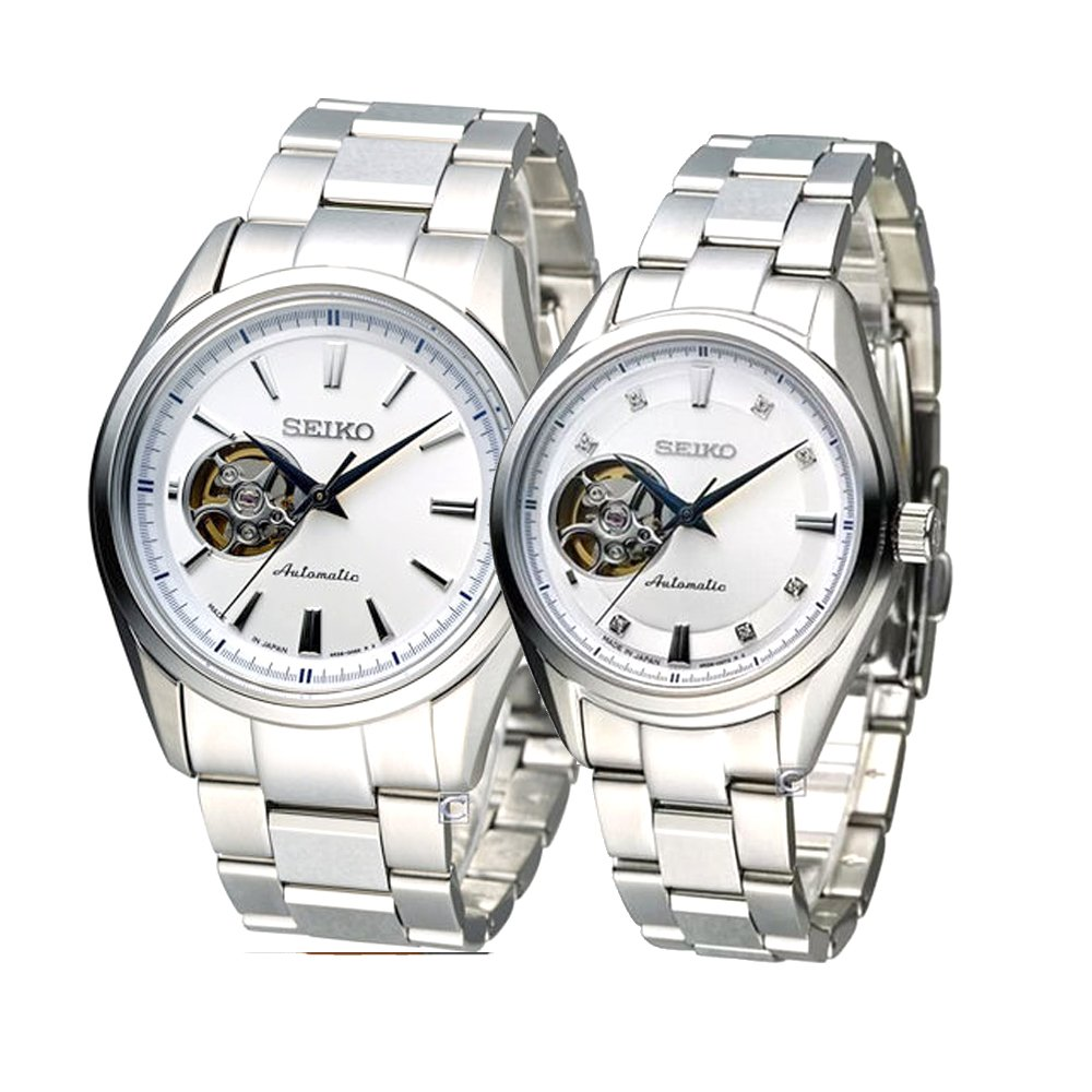 Seiko Presage Automatic Jam Tangan Tali Stainless Steel Silver Ssa303j1 Reserve Indicator Ssa303 Pria Power Source