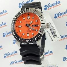 Seiko Prospex SRP589K1 Diver 200M Orange Dial  Jam Tangan Pria SRP589