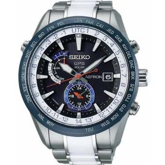 Seiko SAS029J Astron GPS Solar Titanium Limited Edition Men's Watch - Silver