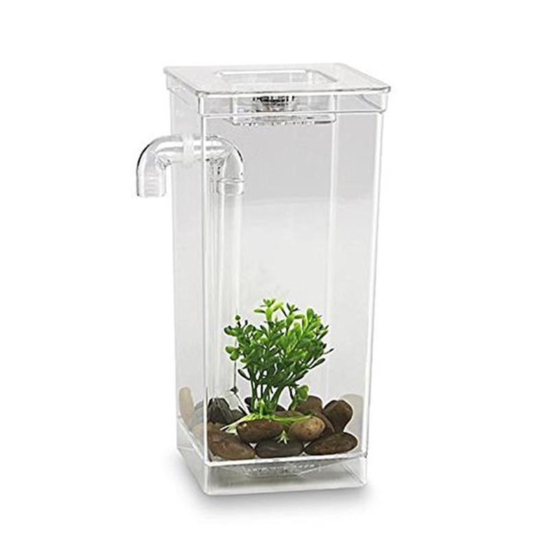 Self Cleaning Pet Fish Tank My Fun Fish Aquarium Small Fish Tankfor children - intl