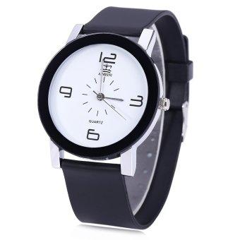 SH AIMEINI Unisex Quartz Watch Casual Digital Dial Wristwatch with Rubber Band - intl