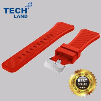 Silicone Watch Band / Strap for Samsung Galaxy Gear S3 Frontier / Classic Smart Watch - Red