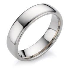 Silver Ring Titanium size 9 CINCIN ANTI LUNTUR