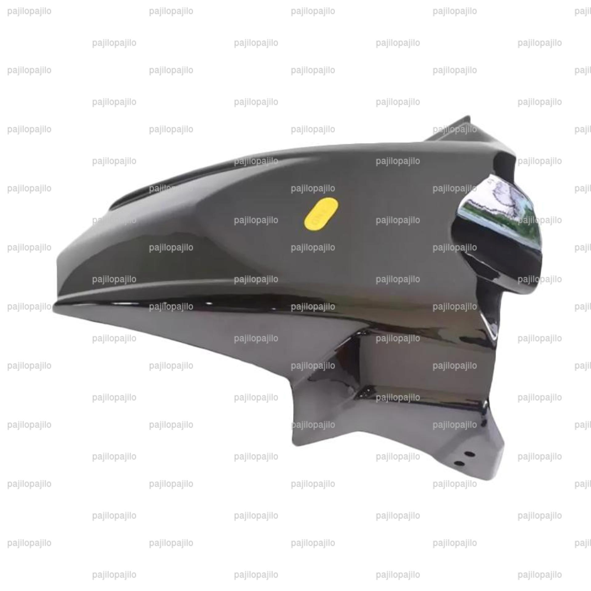 Silver - Yamaha Nmax Rear Huger Spakbor Spatbor Kolong AksesorisBelakang Motor Sporty