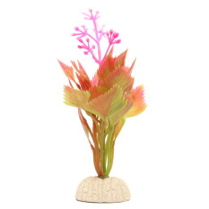 Simulasi Bunga Plastik Tanaman Akuatik Tangki Ikan Akuarium Dekorasi Ornamen - Internasional
