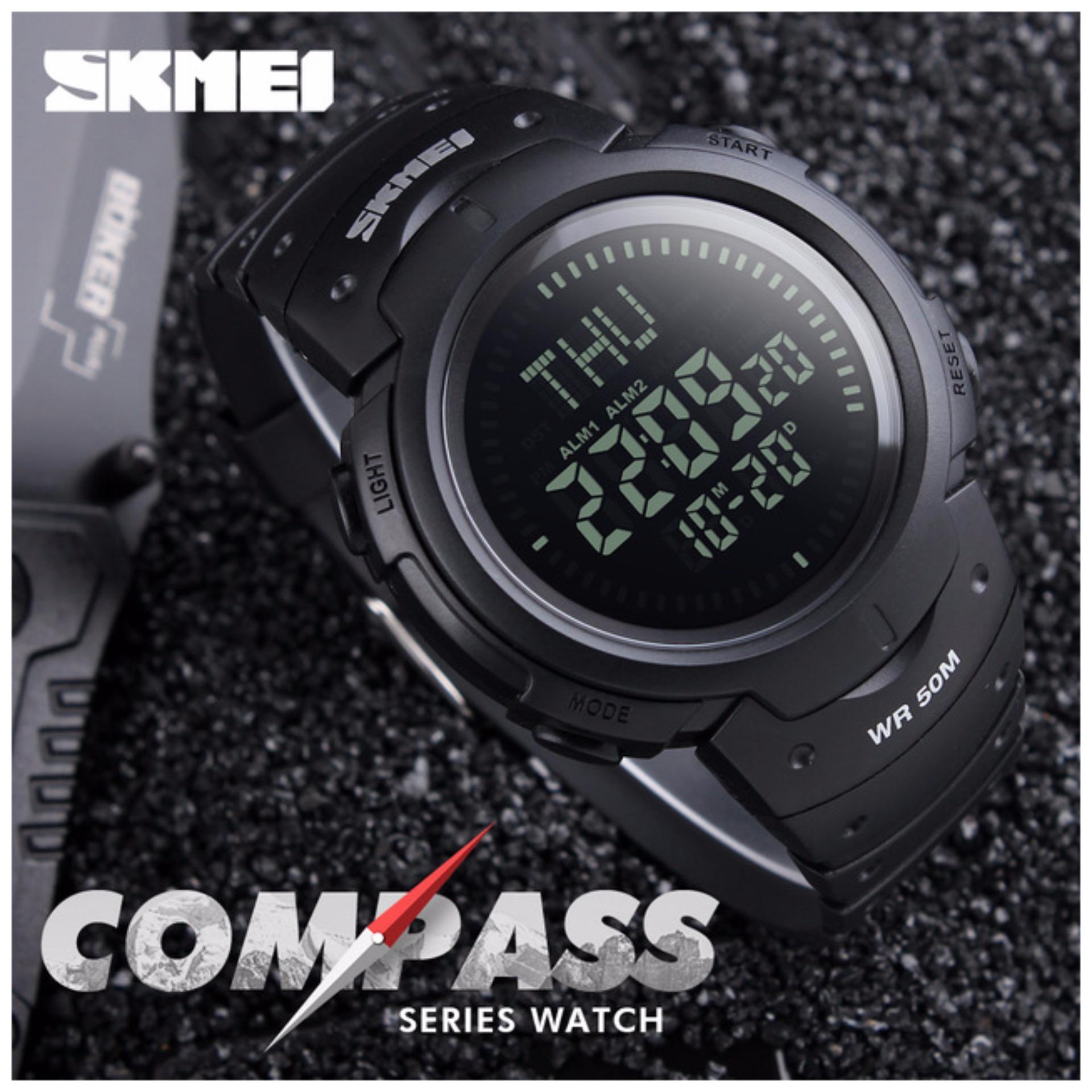 Merek Watch A Outdoor Kompas Digital Pria Countdown Olahraga Jam Source · SKMEI Compass 1231 Original Jam Tangan Pria Sport Outdoor Anti Air