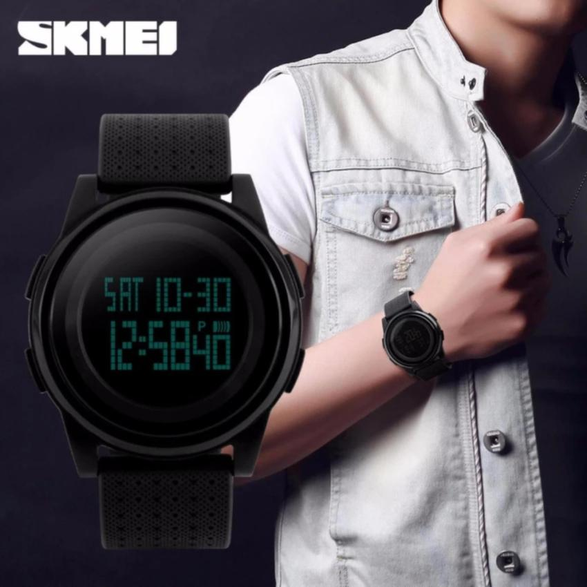SKMEI Digital Sport Watch Water Resistant 50m DG1206 Jam Tangan Sport Day Date .