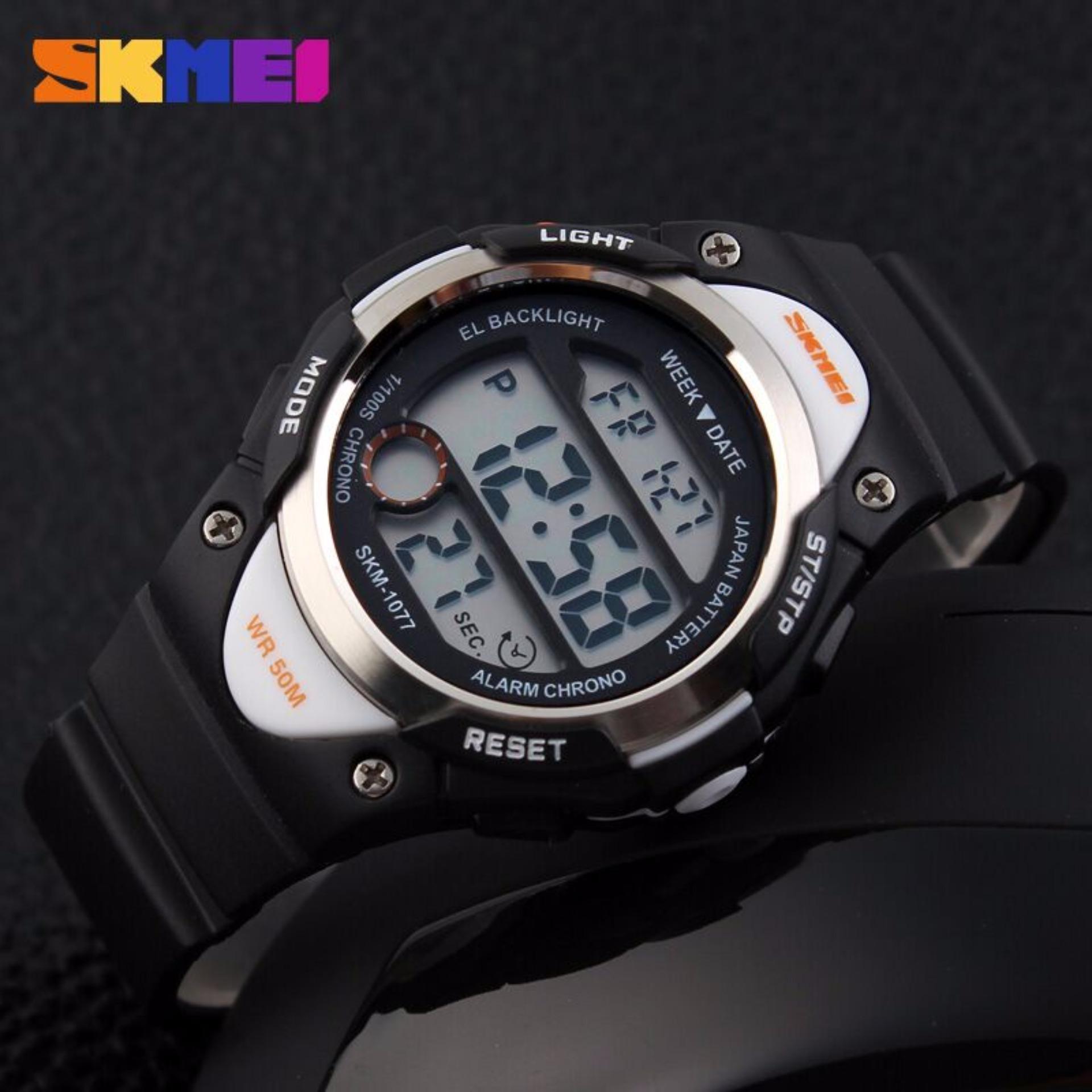 Harga Dan Spesifikasi Terlaris Skmei Sport Rubber Led Watch 1145 Jam S Shock Water Resistant 50m Dg1025 Ad0990 Putih Hitam