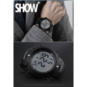SKMEI LED Digital Watch Pioneer 1068 - Jam Tangan Pria - 3