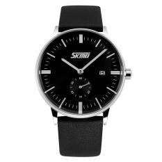 Rp 99900 Skmei Men Leather Strap Watch Hitam 9083IDR99900 101700
