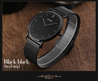 SKMEI merek Watch 1181 Lovers' kuarsa jam tangan mewah pria wanitamode santai .