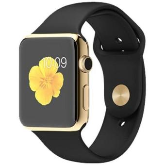 SMART WATCH A1 / SMARTWATCH U10 GOLD BLACK SIMCARD MICRO MEMORY CARD