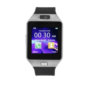 Smart Wrist Watch Mini Phone Camera For Android Phone Mate Fashion Elegant - intl