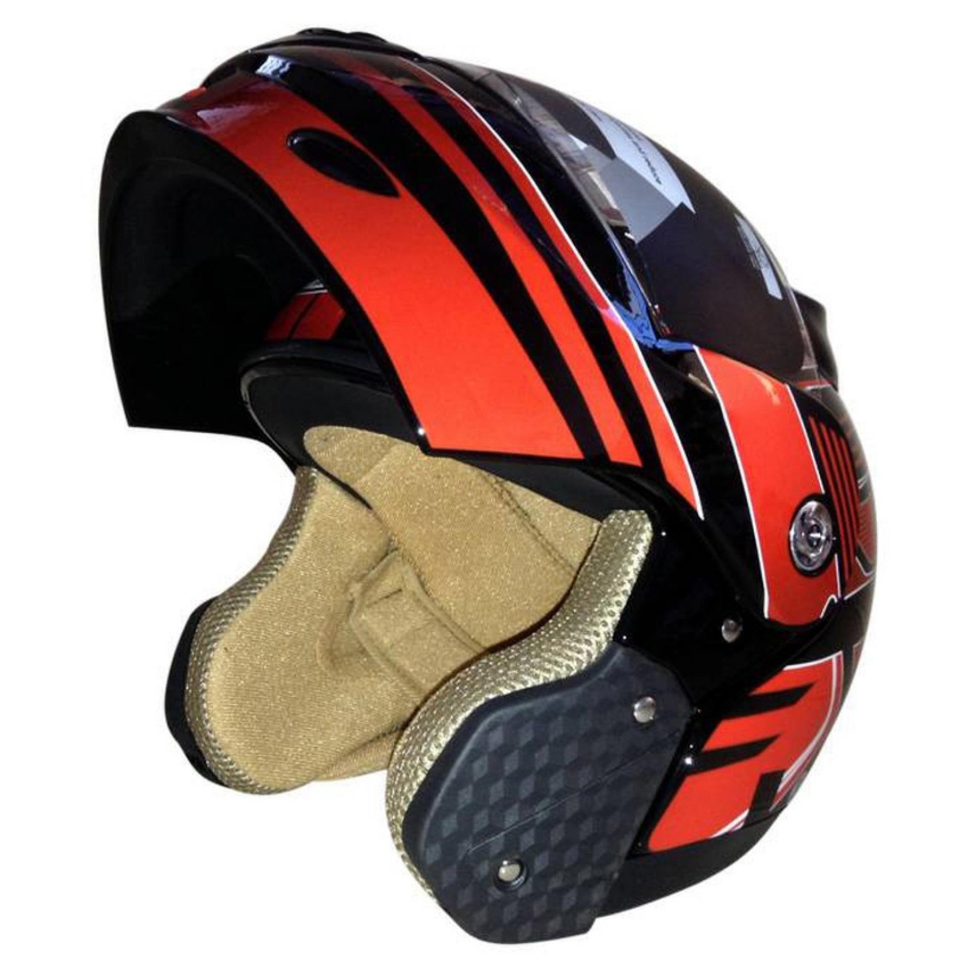 Motor kacamata dilepas Harley Protect Padding penuh Mask(Yellow) - intl.  Source · c6240d9199