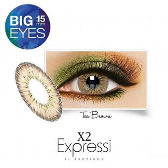 softlens X2 expressi-tea brown (normal)