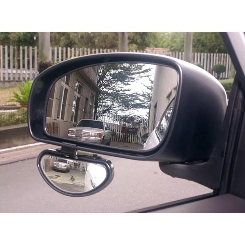 Spion Mobil / Wide View Install Car Blind Spot Mirror / Kaca Mobil Titik Buta