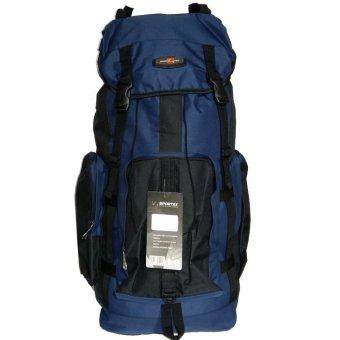 Sport Ex Tas Ransel Backpak dan Travel 65 Liter - Biru