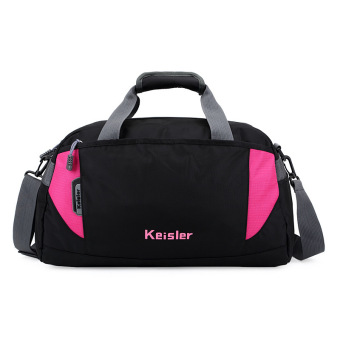 Sports bag travel tote waterproof luggage handbag shoulder bag bmc90520 pink