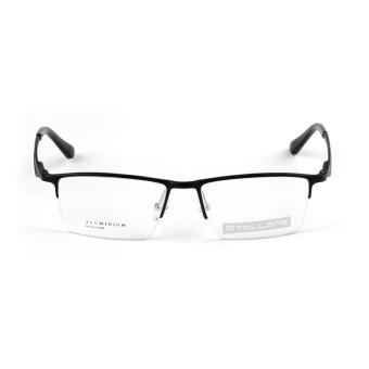 ... Stallane Fashion Baru Optical Miopia Kacamata Bingkai Kacamata Bisnis Tontonan Aluminium Setengah Bingkai Kacamata untuk Pria