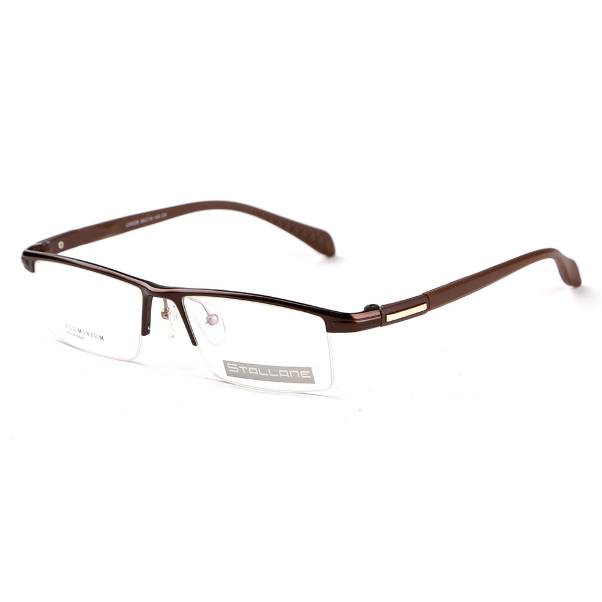 ... Stallane Fashion miopia bingkai kacamata Optik kacamata bingkai kacamata bisnis aluminium alis Tr90 kacamata untuk pria