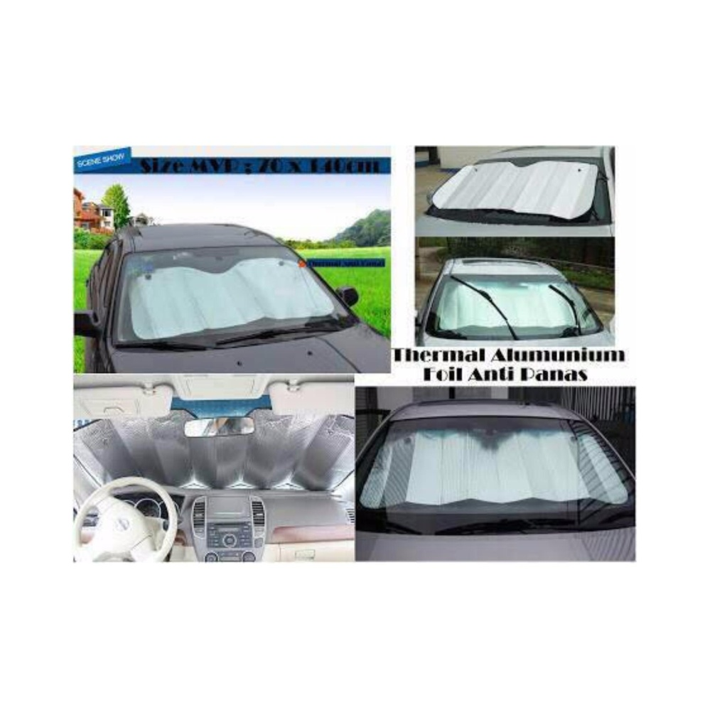 ... Sun Shield Mobil/PELINDUNG PANAS AGAR DASHBOARD WARNA TIDAK PUDARDAN TIDAK RUSAK ...