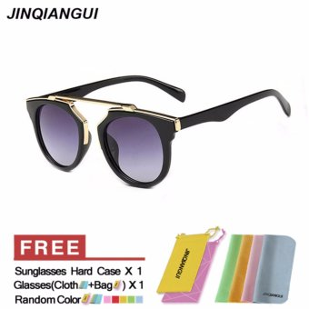 Sunglasses Women Cat Eye Sun Glasses Grey Color Brand Design