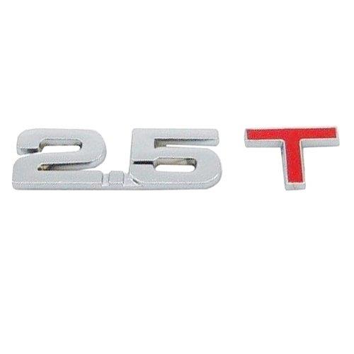 SUNSKY 3D Universal Decal Chromed Metal 2.5T Car Emblem BadgeSticker Car Trailer .