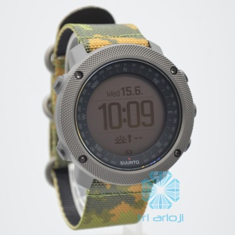 Suunto Traverse Alpha Woodland - SS023445000 - Camouflage - Kanvas - Hijau