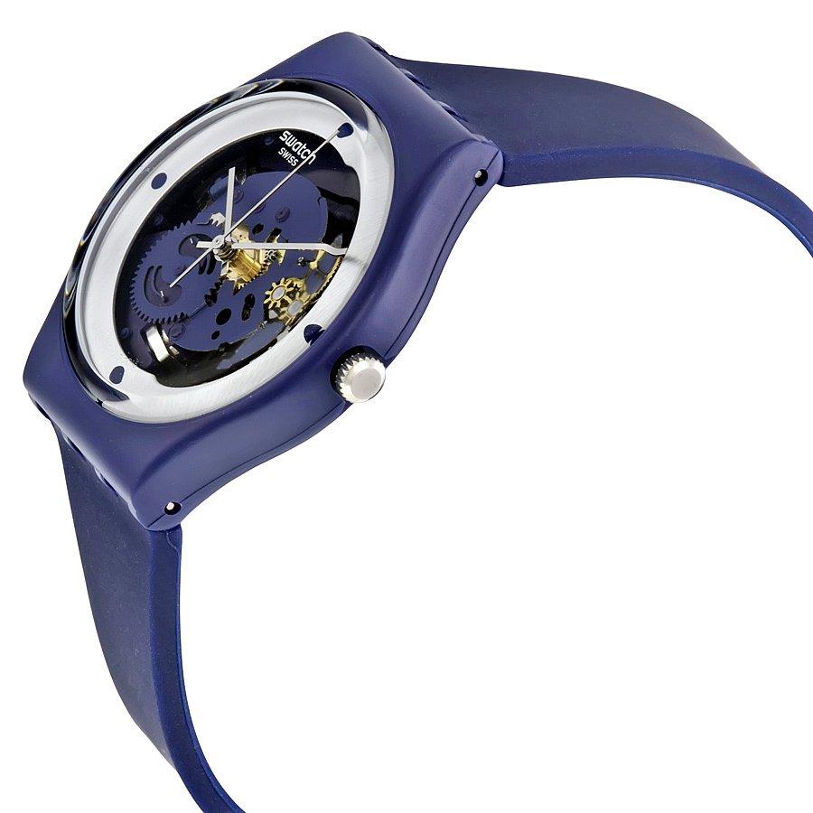 ... Swatch Jam Tangan Pria-GN245 SQUELETTE BLUE-Biru ...