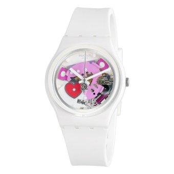 Swatch Jam Tangan Wanita-Gz300 Tender Present – Putih