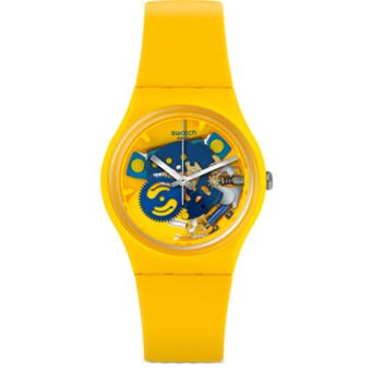 Online murah Swatch - Jam Tangan Wanita - Kuning-Kuning - Rubber Kuning -  GJ136 a87e9b7c11