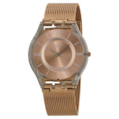 Swatch Jam Tangan Wanita - Stainless steel - Gold - Swatch SFP115M