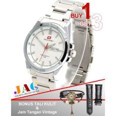 Swiss Army - Jam Tangan Wanita - SA5225JAC - Fiture Date Active - Buy 1 Get 3