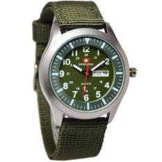 Swiss Army SA240-BW Jam Tangan Wanita - Strap Kanvas