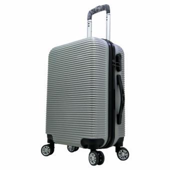 "Tas Koper Polo Maple - Fiber ABS Kabin B35 Size 20\"" Silver"