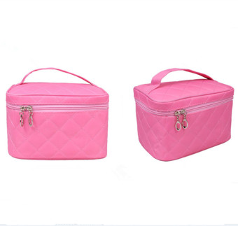 Product Detail Image Tas kosmetik lucu warna pink Newest