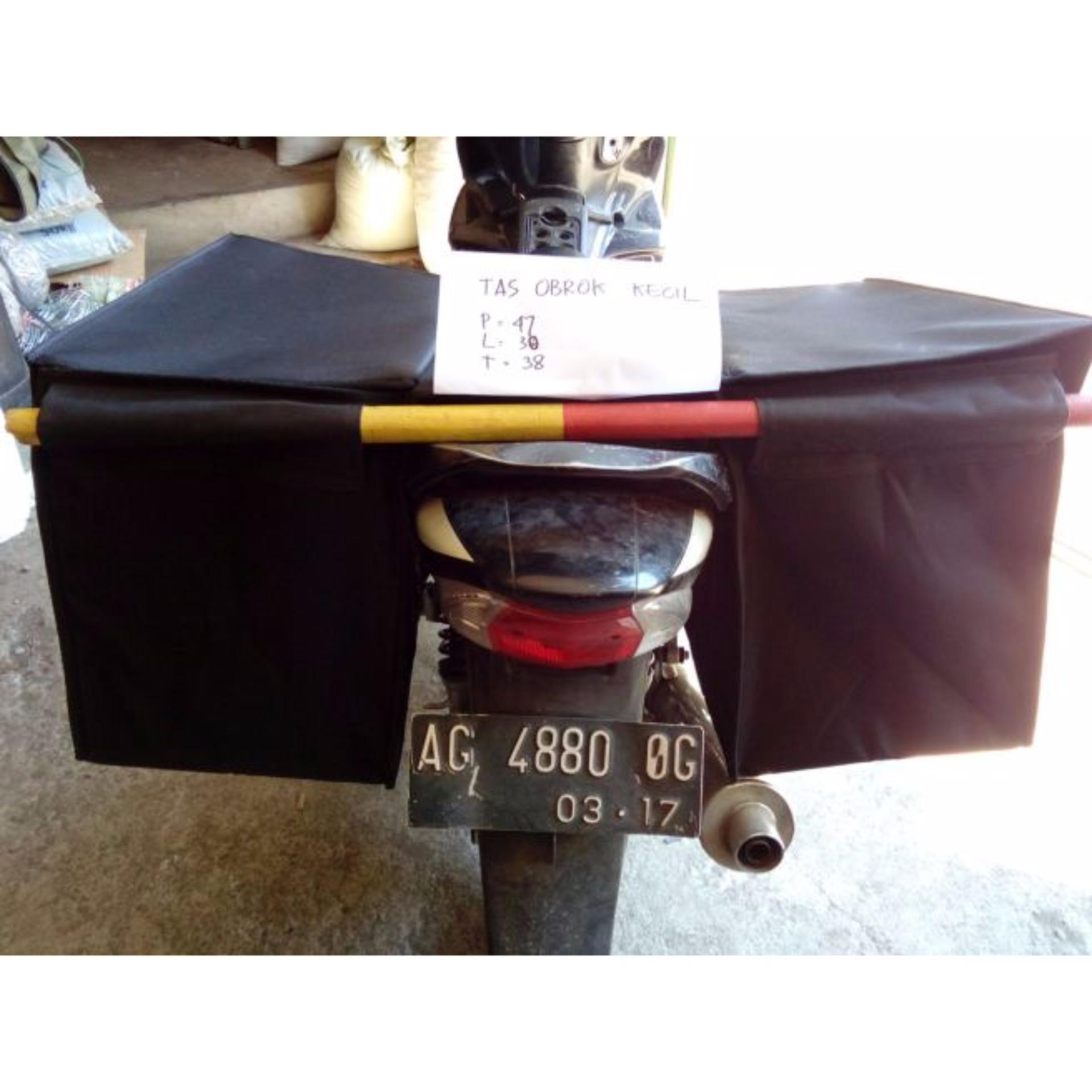 Belanja Murah Tas Obrok Kecil Pos Motor Sales Tabung Jas Hujan Jk Speed