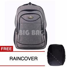 Tas Ransel Polo USA Astronomist AX-078 Silver Petal Tas Laptop Backpack - PREMIUM + FREE Raincover Tas Pria Tas Kerja Tas Sekolah Tas Fashion Pria