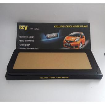 Tatakan Dudukan Plat Nomor Mobil IZY Slim Series