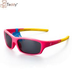 Teddy terpolarisasi yurt UV Teddy Bear kacamata hitam kacamata hitam untuk anak-anak