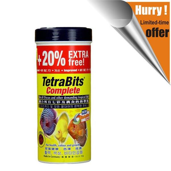 Tetra Bits Makanan Ikan 93g Complete Fish Granules Food
