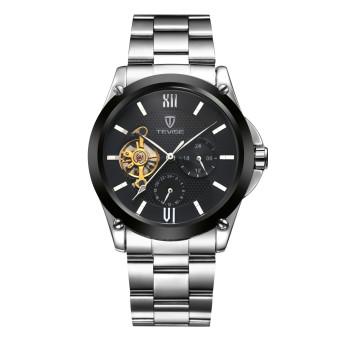 Tevise 629FEILUN2-H-G Tourbillon Top Brand Luxury Digital Casual Watch Men Business Wristwatch Automatic Mechanical Fashion Wrist Watches