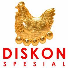 Tiaria Gold 24K Special Rooster Gold Bar Logam Mulia Emas Murni 24K  0.2 gram l Discount Spesial
