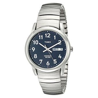 Timex Laki-Laki T20031 Pembaca Mudah Ekspansi Perhiasan