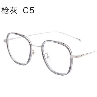 Jual Tr90 Korea Fashion Style Logam Laki Laki Diukir Kaca Mata Rak ... b6acb8ca27