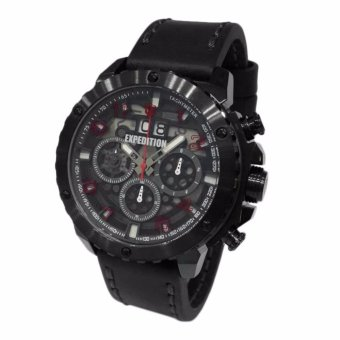 Triple 8 Collection - Expedition 6669MCLIPBARE Black IP - Jam Tangan Pria b5c5330f5a