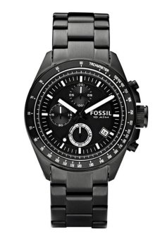 Triple 8 Collection - Fossil Decker CH2601 - Jam tangan Pria Hitam