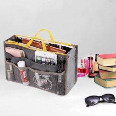 Ultimate Korean Bag in Bag Organizer IM OR 20-01/Korean Travel Pouch - Abu-abu